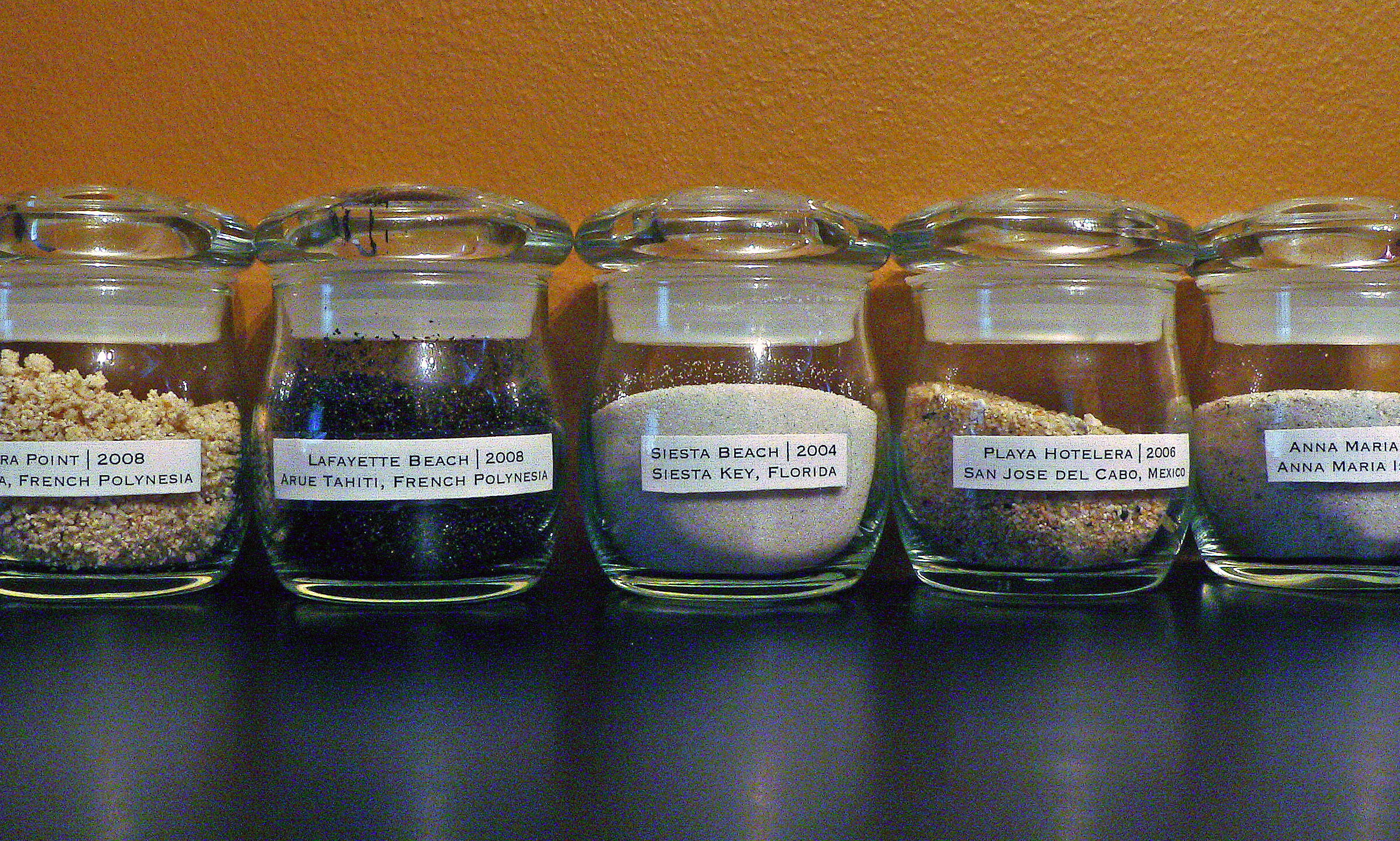 Jars Full Of Memories My Sand Collection Erin Straza
