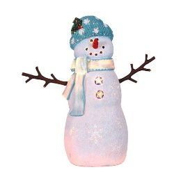 my fiber optic snowman isnt he cute - Fiber Optic Snowman Christmas Decorations