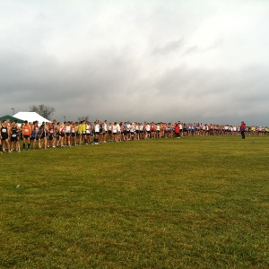 2012 National Club Cross Country Championships, Lexington, Kentucky. Mike Straza is in there somewhere.